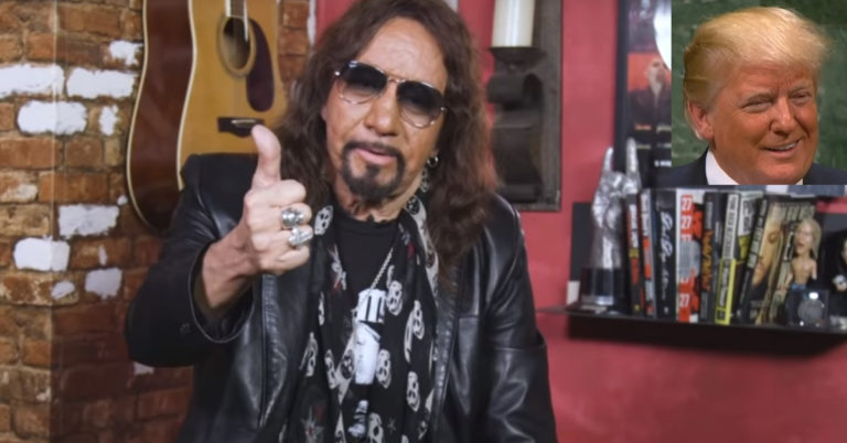 Kiss Guitarist Ace Frehley Sends Brutal Message To All Trump Haters