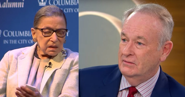 Bill O'Reilly Attacked By Hysterical Liberals For Shattering Ruth Ginsburg Myth