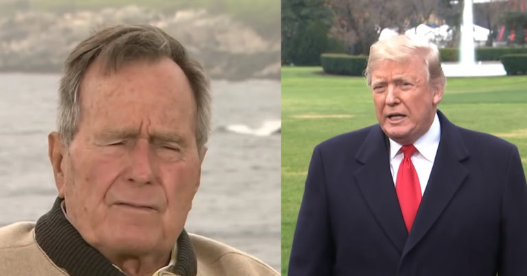 Bush Family Shows True Class, Outlaws Trump Bashing At Funeral