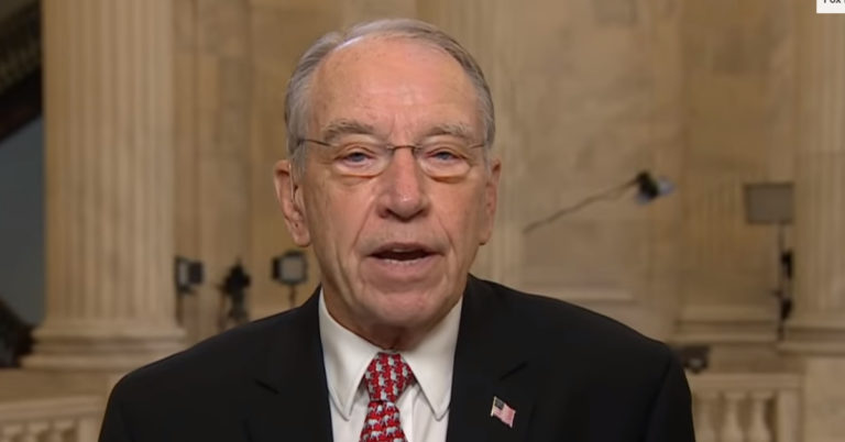 Chuck Grassley Reaches Limit With Clinton Foundation, Demands Answers To FBI Raid