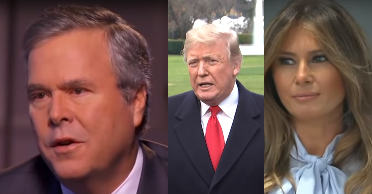 Jeb Bush Breaks Silence On Generosity The Trump's Showed The Bush Family