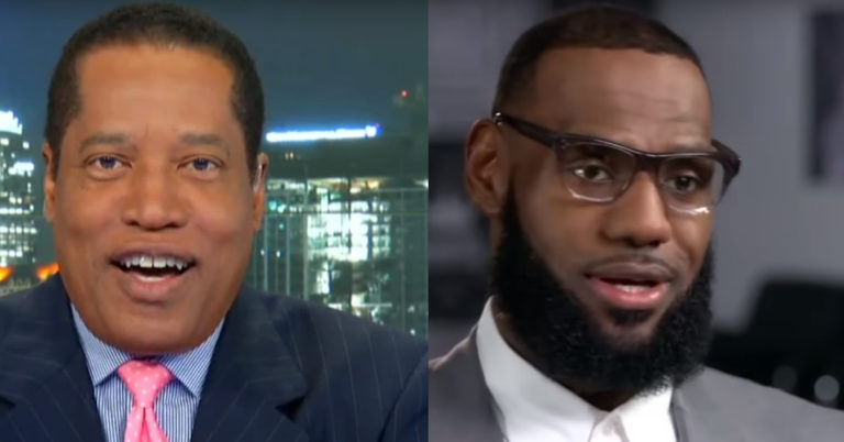 Larry Elder Teaches LeBron Brutal History Lesson After He Trashed NFL And He'd Be Wise To Listen Up