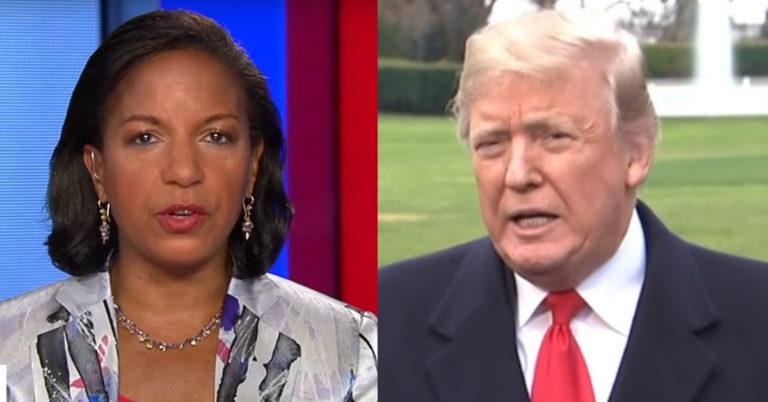 Susan Rice Rips Trump But POTUS Gets Last Laugh