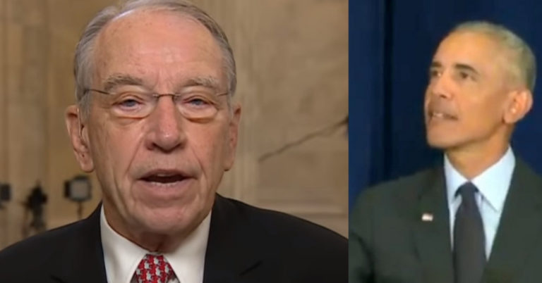 Chuck Grassley Opens Probe Into Meetings Between Obama Admin Officials And Russians