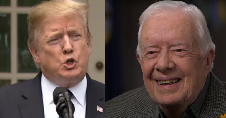 Trump Silences 'Terrible' Jimmy Carter For Calling Him Illegitimate: 'I Feel bad For Him'