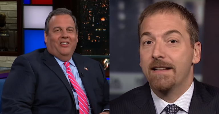 """Chris Christie Rips NBC's Chuck Todd: """"Pretentious, Know It All, Complete Ass"""""""