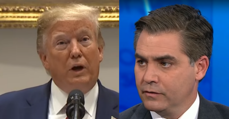 Trump Shuts Down Rude Question From Jim Acosta: 'I understand your book, is a doing well'