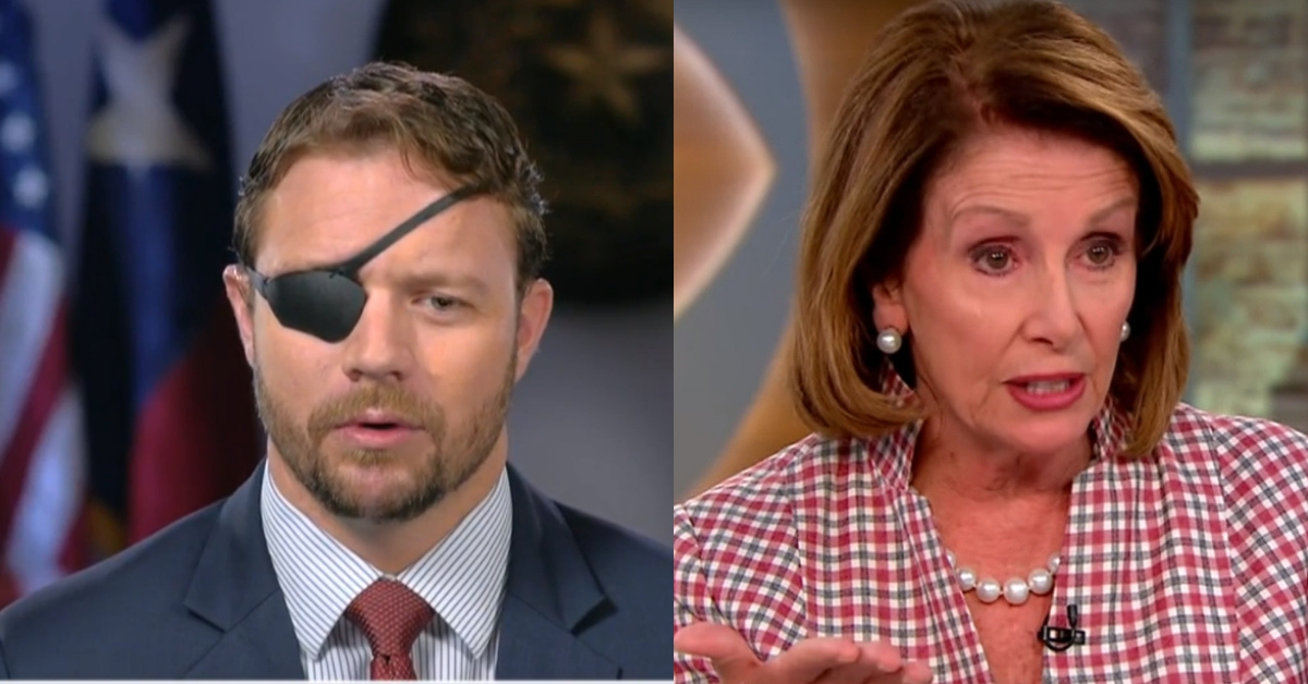 Dan Crenshaw Ends AOC's Reign Of Terror With Passionate Defense Of Nancy Pelosi