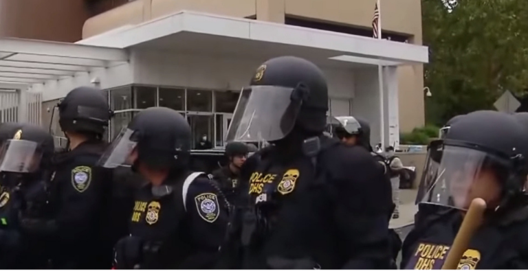 Armed Man Shot Dead After Attacking ICE Detention Center With Incendiary Devices