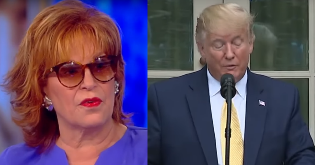 Joy Behar Crosses Line With New Attack On Trump: 'Very reminiscent of Nazi Germany'