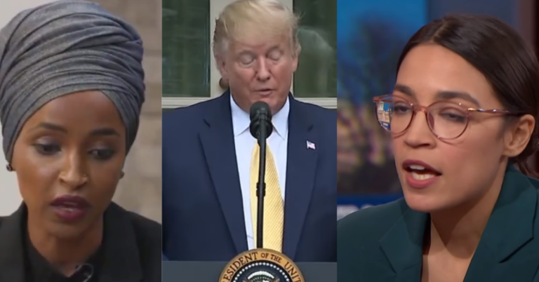 Trump Turns Tables, Demands Apology From Ilhan Omar and AOC