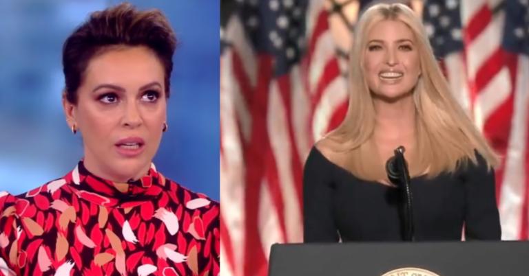 Alyssa Milano Rips Ivanka Trump: 'I'm sad to see what she has evolved into'