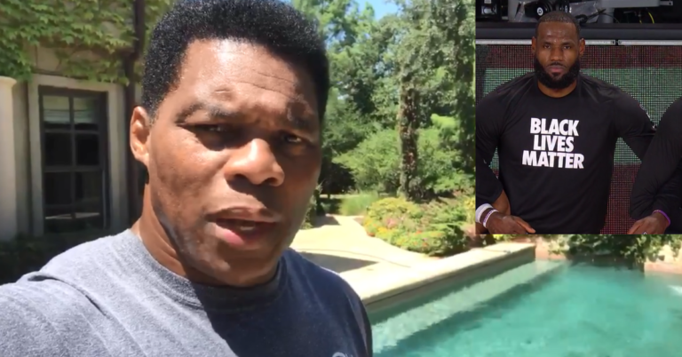 Hershel Walker Rips Pro Athletes For Supporting BLM: Are These 'The People You're Supporting Right Now?'