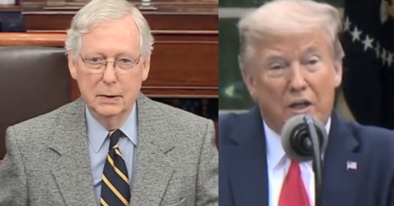 GOP Senate Puts Trump On Notice Over Transition Comments, Passes By Unanimous Consent Resolution To Affrirm Transition Plans