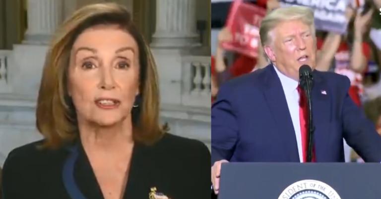 Nancy Pelosi Says Trump's A Danger To Democracy, Tells Biden Not To Debate Him