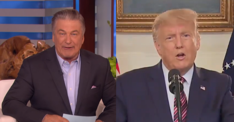 """Alec Baldwin Disgraces Hollywood With Trump Insult: """"Fascist whore needs a beating"""""""