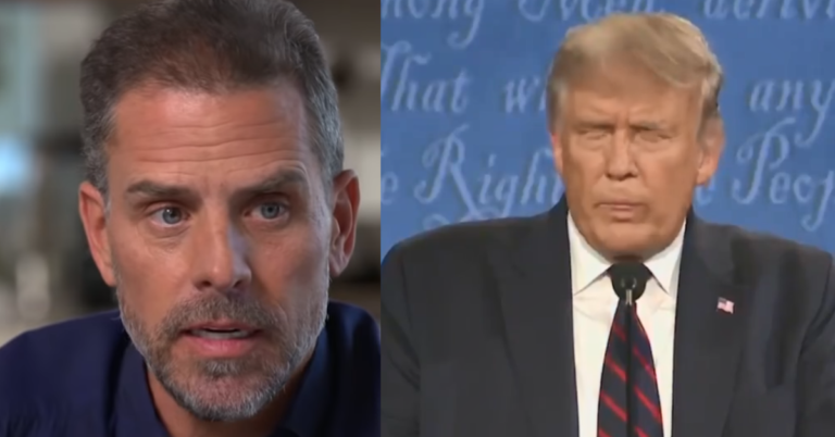 Hunter Biden's Daughter Attacks Trump, Says She Would Have Slapped POTUS Across Face Last Night