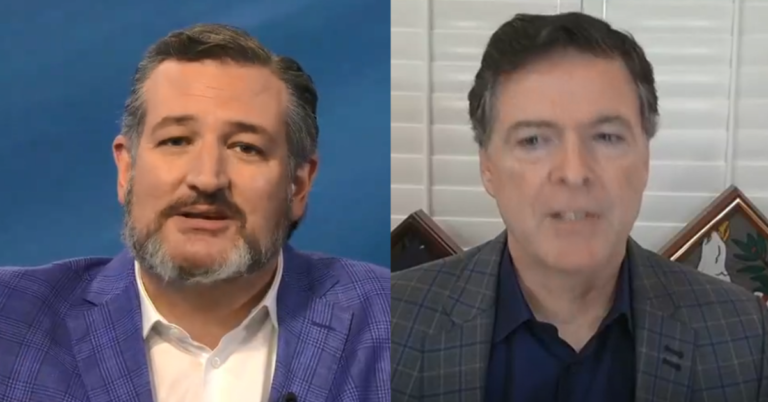 """Ted Cruz Knocks James Comey Off High Horse, Calls Him Deliberately Corrupt: """"You were deliberately corrupt or woefully incompetent and I don't believe you were incompetent"""""""