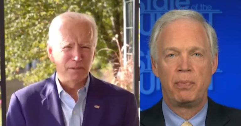 """Joe Biden Addresses Hunter Story, Rips Sen Ron Johnson: """"Ron Should Be Ashamed of Himself"""""""