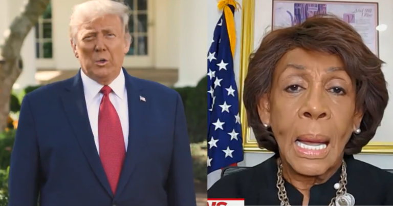"""Trump Calls Maxine Waters A Crook As He Endorses Joe Collins: """"Vote for Joe E. Collins lll and get this long time crook, Maxine Waters, out of office"""""""