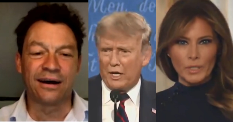 """Hollywood Star Dominic West Says He Did """"Leap in The Air With Joy"""" Over Trump's Postive Test"""